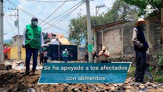 En las zonas de Topilejo y San Mateo Xalpa Tlalpan no hubo necesidad de albergues, dijo la jefa de Gobierno, Claudia Sheinbaum