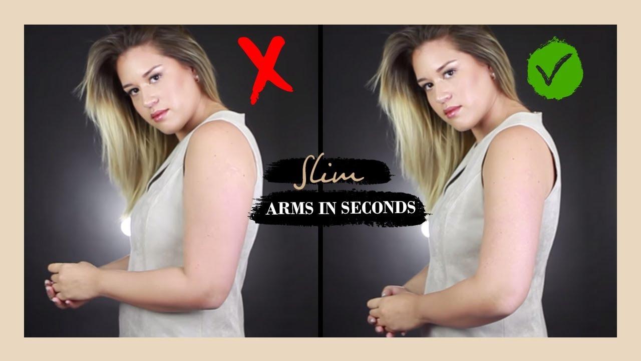 arm slimming poses