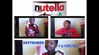 September Favorites! ^.^ Thumbnail