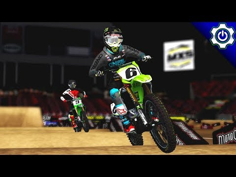 MX Simulator - 2018 MotoOption SX Round 8 - Tampa