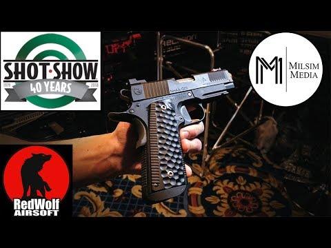 SHOT Show 2018: Red Wolf Airsoft - Nighthawk Custom / Agency Arms 1911 Handgun