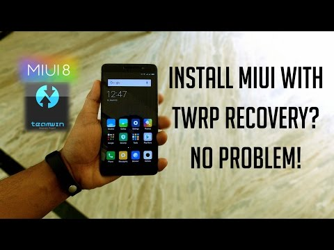 How to Install MIUI with TWRP Recovery! On Redmi Note 3 (Kenzo