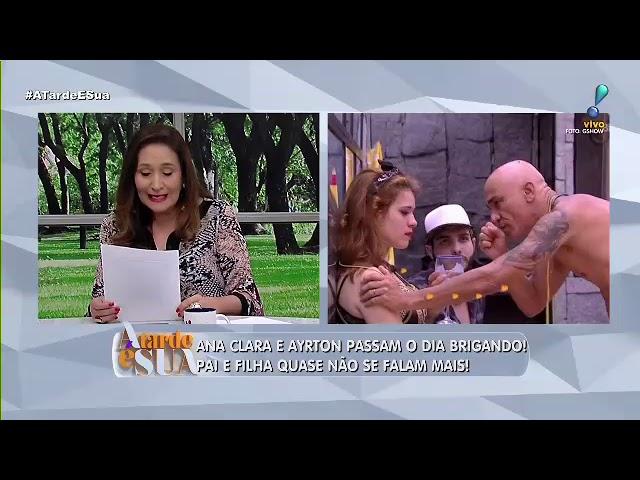 """Sonia Abrão detona postura de Tiago Leifert: """"uma mancada atrás da outra"""""""