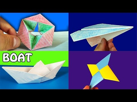 Origami paper toys. DIY Compilation