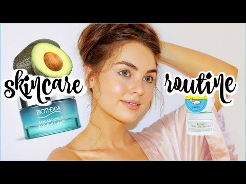 My SKINCARE Routine 2017    Clear Acne & Dry Skin