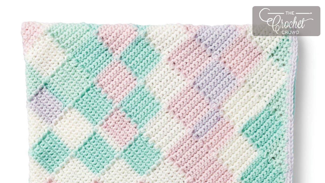 Tunisian Entrelac Crochet Beginners Youtube