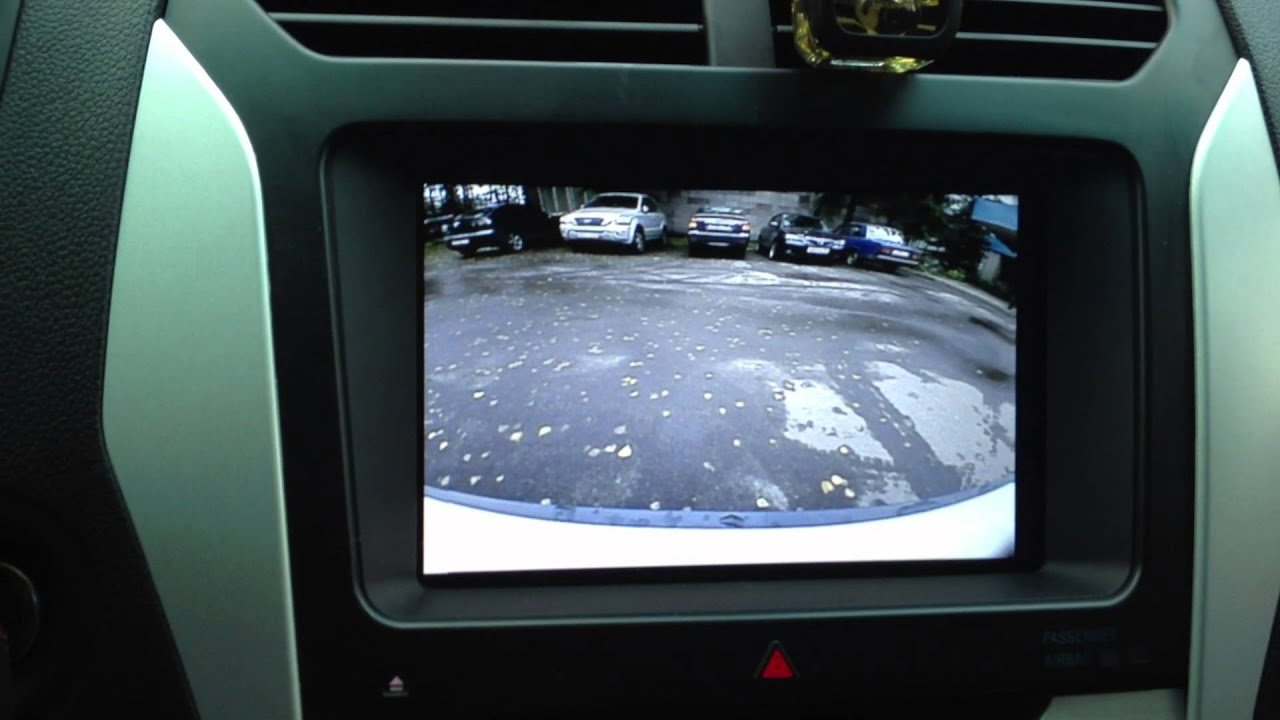 ford explorer 2013 front and side camera - youtube