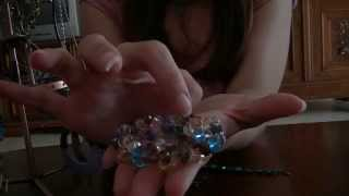 ◙ ASMR soft spoken jewelry sales roleplay - soft hand movements lots of bracelets and earrings! ◙