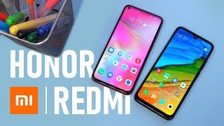 Сравнение Xiaomi Redmi Note 7 и Honor View 20 с Google Камера, игровой обзор Global Version + цена