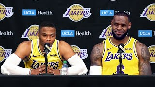 Lakers Introduce Russell Westbrook