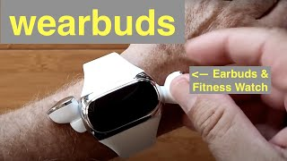 Aipower Wearbuds AI-W20 Wireless Earbuds Power Charging Smartwatch Fitness Tracker: Unbox 1st Look