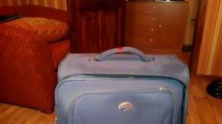 как починить оторванную ручку у чемодана.How to fix a broken suitcase handle.
