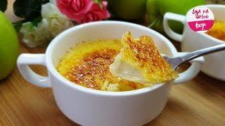 как приготовить крем-брюле?  Рецепт карамельного крем-брюле с сахарной корочкой (пошаговый рецепт)