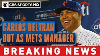 Mets manager Carlos Beltran out after being implicated in sign-stealing scandal | CBS Sports HQ
