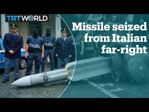Air-to-air missile seized in raid on far-right groups in Italy