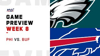 Philadelphia Eagles vs Buffalo Bills Week 8 NFL Game Preview