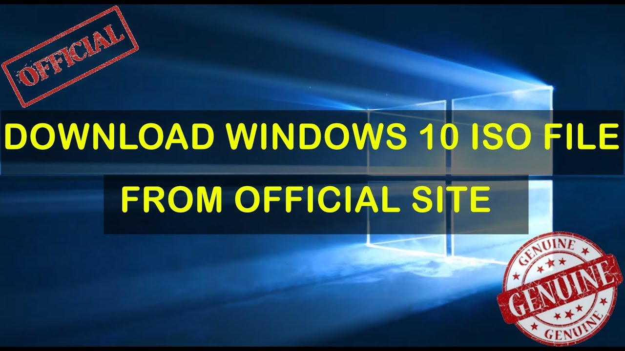 Download Windows 10 ISO File From Microsoft Store Free | Windows 10 ISO  Free Official |