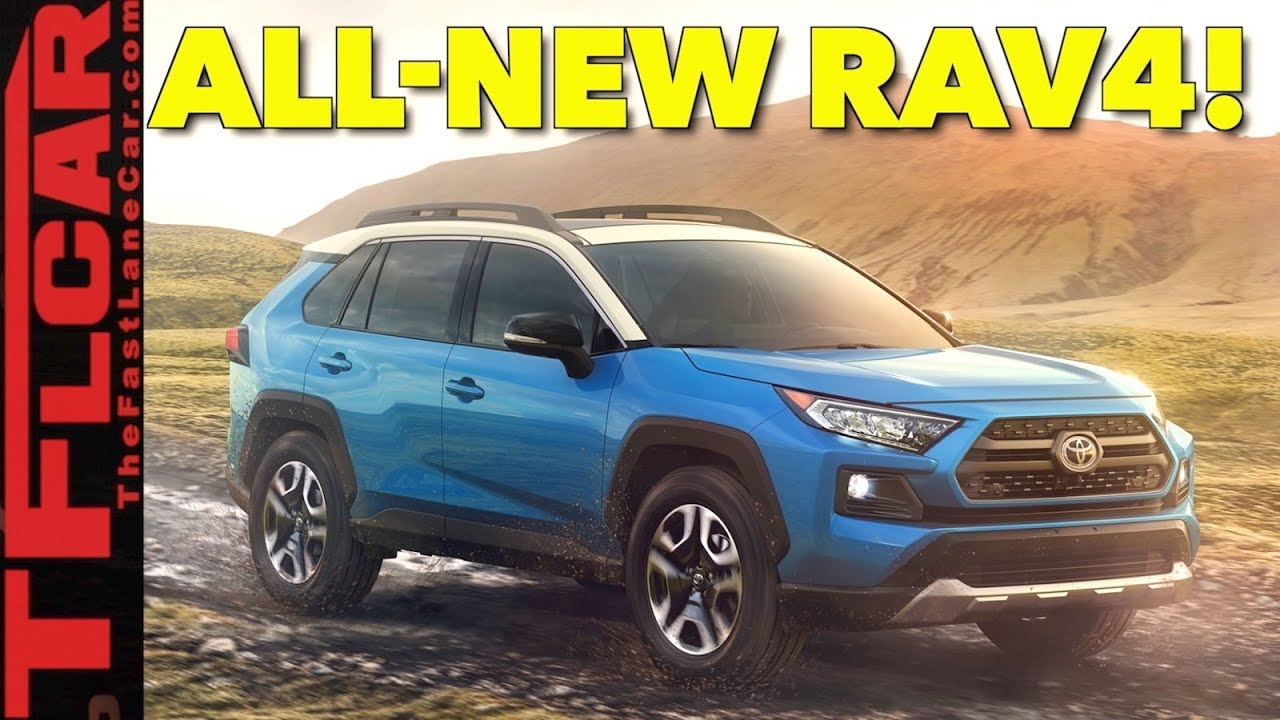 Breaking News All New 2019 Toyota Rav4 Has 6 Cameras And More