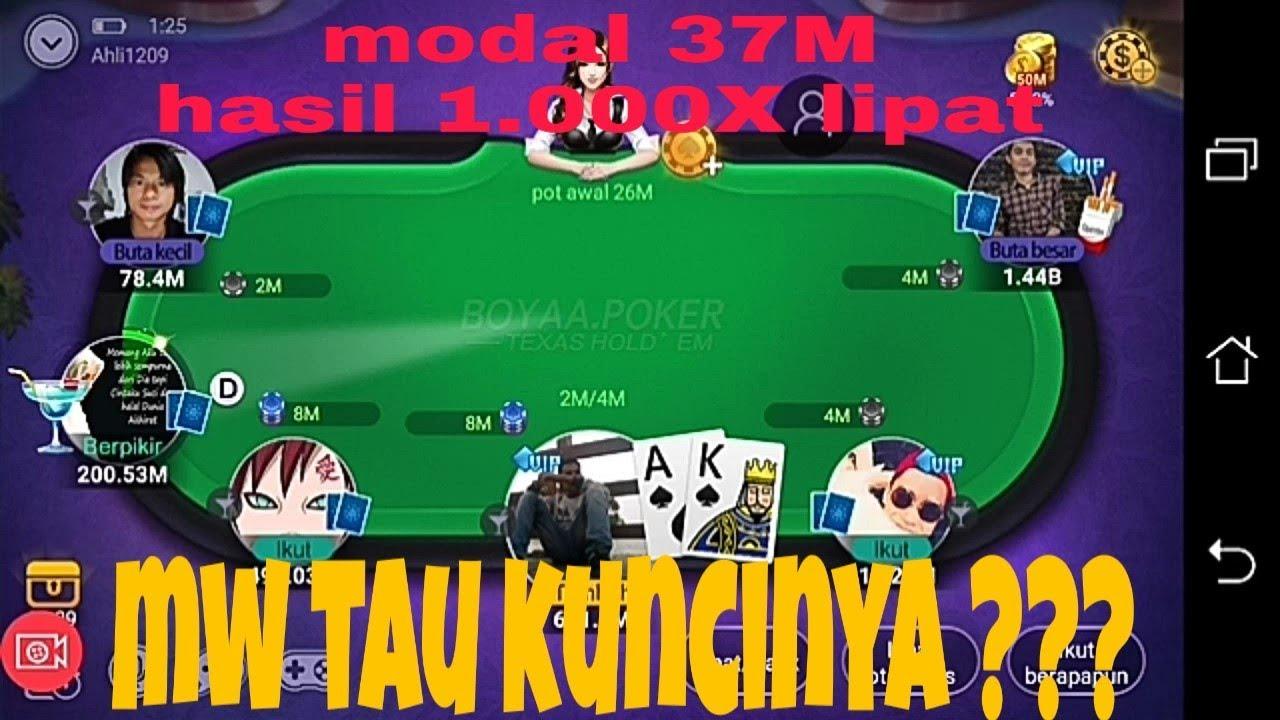 #POKERBOYAA cara menang banyak main  poker boyaa berkali2 lipat