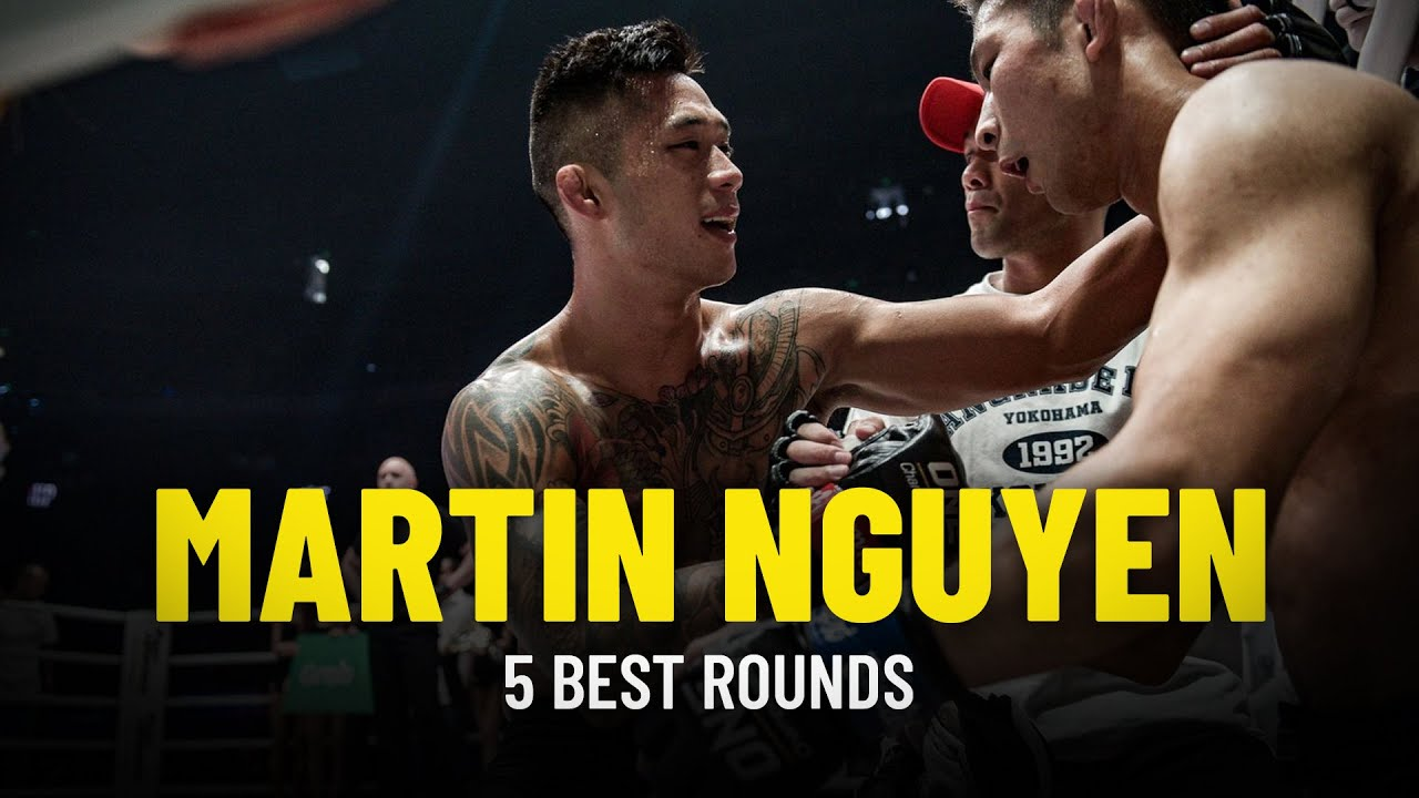 Martin Nguyen's 5 Best Rounds