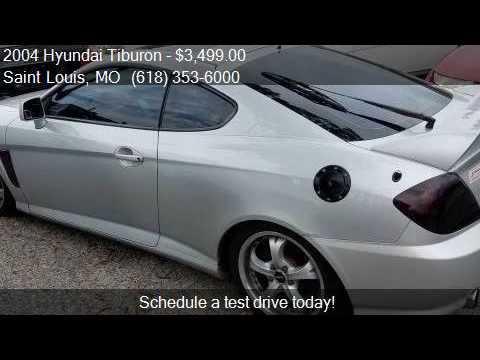 2004 hyundai tiburon gt v6 2dr hatchback for sale in saint. Black Bedroom Furniture Sets. Home Design Ideas