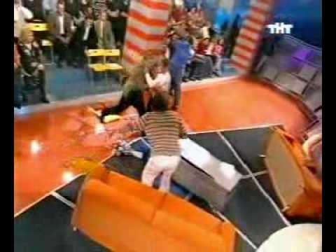 Ordinary Russian TV show - Fight