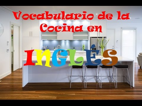 Vocabulario de cocina en ingl s the kitchen youtube for Utensilios de cocina ingles