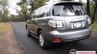 2016 Nissan Patrol Ti V8 (Y62) 0-100km/h & engine sound