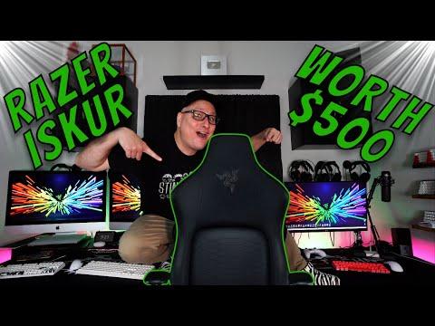 Razer Iskur Gaming Chair Review (toute la version noire), d'une valeur de 500 $?
