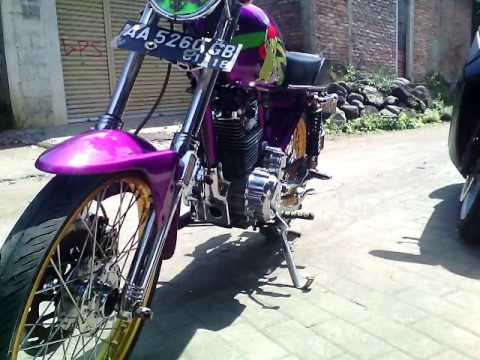 Modifikasi Motor Honda CB 100 1994 ( Airbrush / Thailook Style / Modif Apa Ini ? ) modif Cb Terbaru