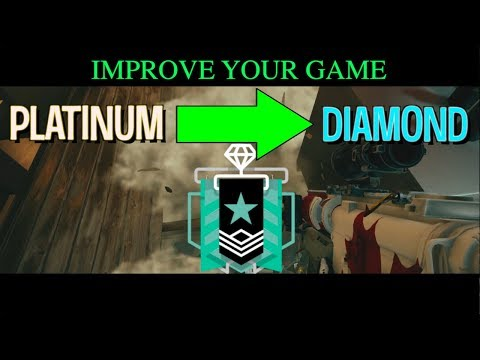 5 Tips That Will Make You INSTANTLY PLAY Like a DIAMOND in Rainbow Six Siege || Improve Your Game
