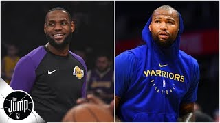 DeMarcus Cousins is 'an interesting name to watch' for Lakers in free agency - Zach Lowe | The Jump