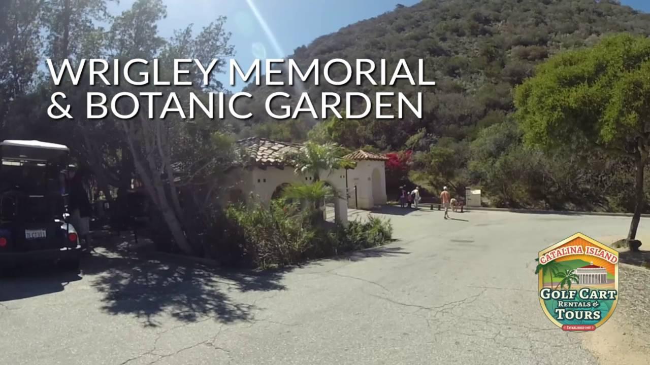 Catalina island points of interest wrigley memorial botanical gardens youtube for Wrigley memorial botanic garden
