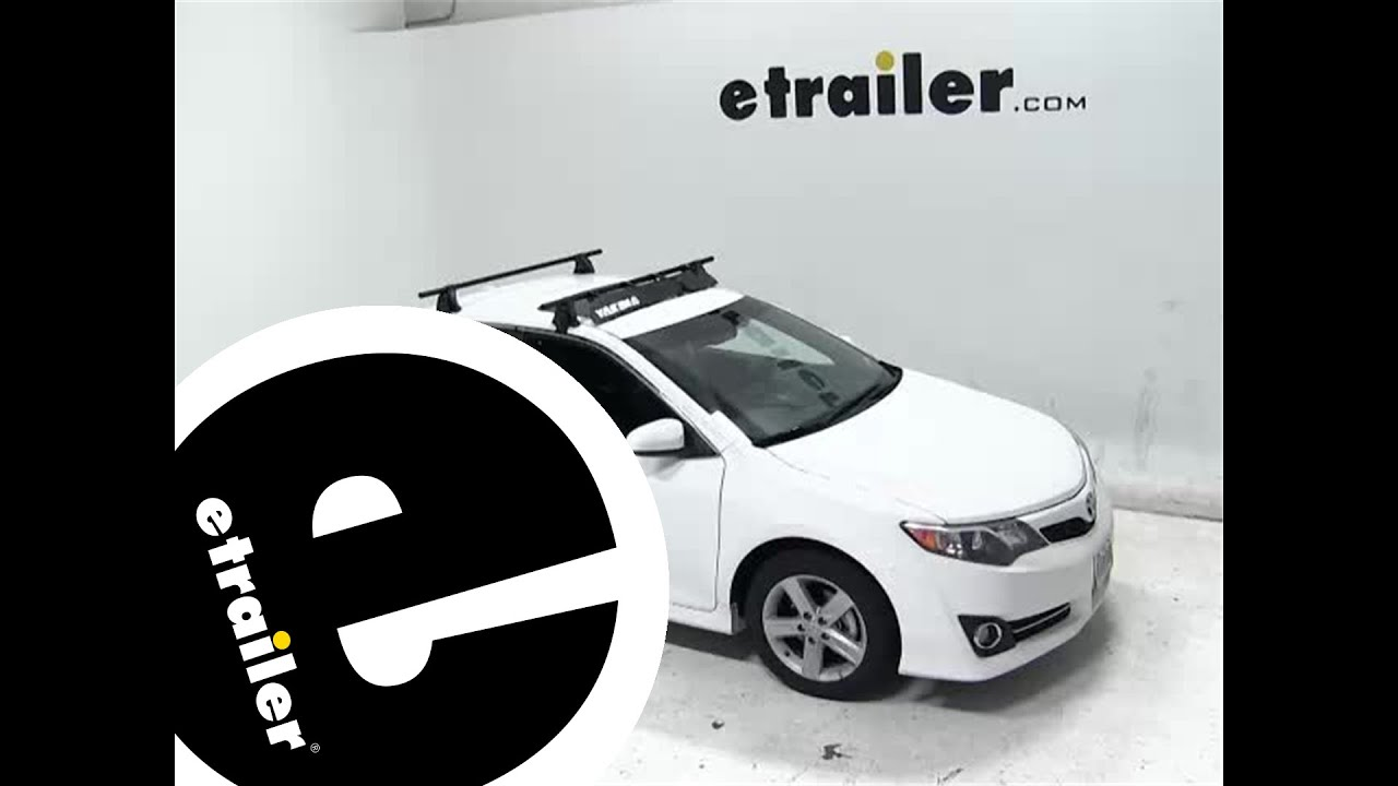 Review Of The Yakima Roof Rack Fairing On A 2012 Toyota Camry    Etrailer.com   YouTube
