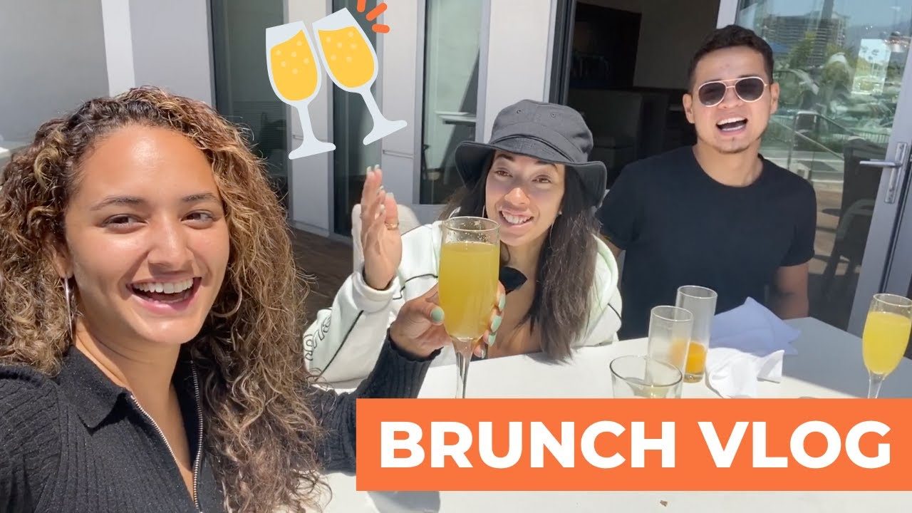 BRUNCH DATE VLOG AND BOTTOMLESS MIMOSAS!!!