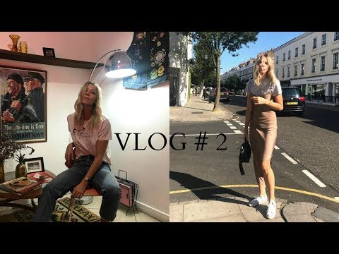 Weekly vlog #2 Some DIY hell, denim, shopping and my mates