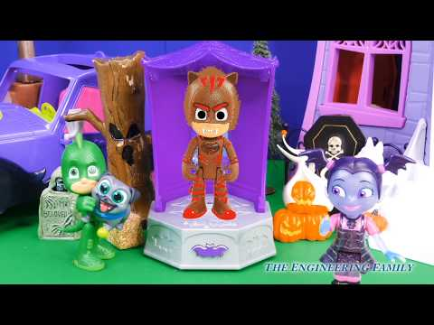 Vampirinas Silly Spooky Lab Helps PJ Masks Find the Perfect Halloween Costume