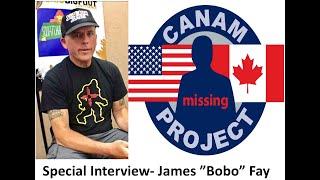 "Missing 411- David Paulides Interviews James ""Bobo"" Fay of Finding Bigfoot. Filmed at the MT Vortex."