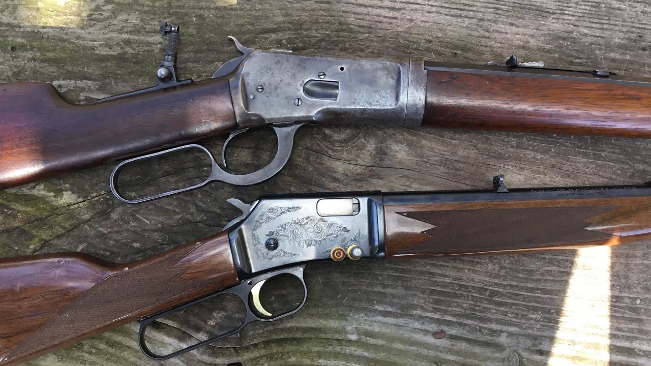 BL Browning 22 Lr versus 1892 Winchester  32-20 lever actions