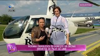 Teo Show (26.04.2018) - Roxana Ciuhulescu piloteaza, desi e gravida in 7 luni! Partea 1