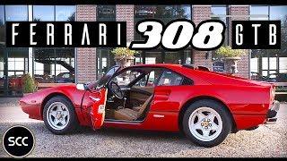 Ferrari 308 Gtb Qv 1983 Test Drive In Top Gear Quattrovalvole V8 Engine Sound Scc Tv Youtube