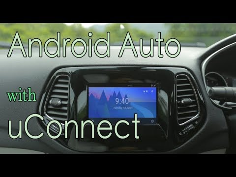 Android Auto In Jeep Compass Youtube