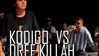 BDM Deluxe 2015 / Tercer Lugar / Kodigo vs Dref Killah