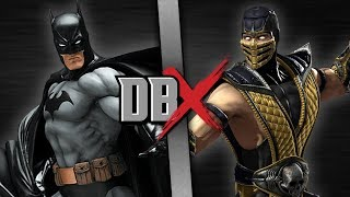 Batman VS Scorpion | DBX