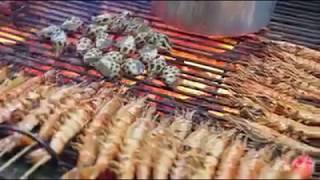 المأكولات البحرية الطازجة
