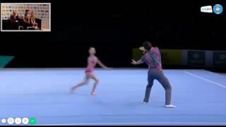 Карагандинцы Амоскин Никита и Долганюк Анастасия стали чемпионами мира по спортивной акробатике