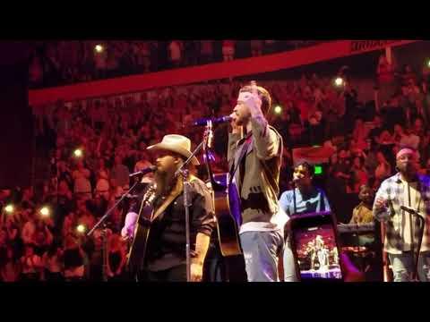 Justin Timberlake & Chris Stapleton Perform 'Say Something' In Nashville 5/9/18