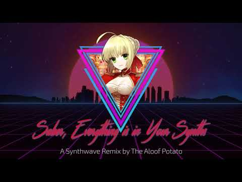 Saber, Everything Is In Your Synths (Nero Claudius Theme Synthwave)