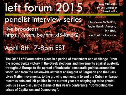 JOIN US - LEFT FORUM 2015