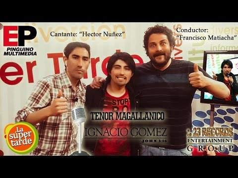 ▶ Tenor Magallanico Ignacio Gomez Urra: Especial de Navidad en La Super Tarde del PinguinoTV